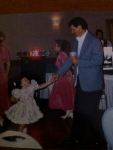 Pops and I dancing at Garard wedding